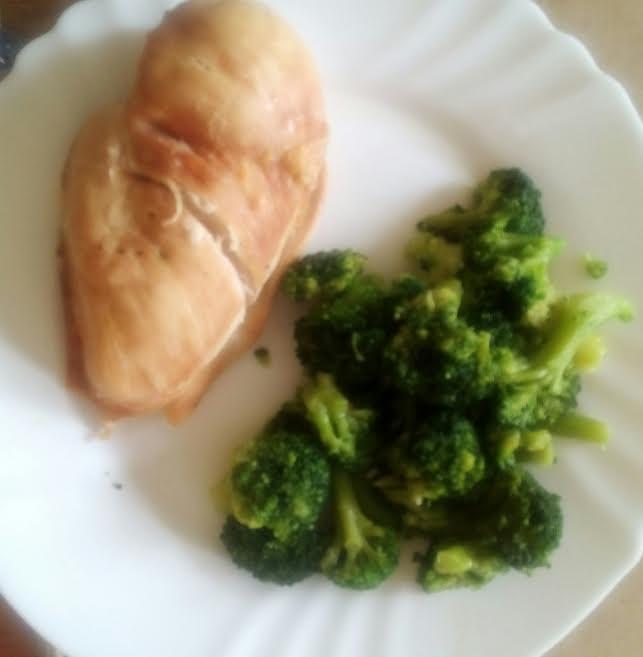 pileća prsa i brokoli